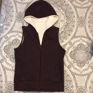 Columbia Sportswear reversible sweater/fleecy vest